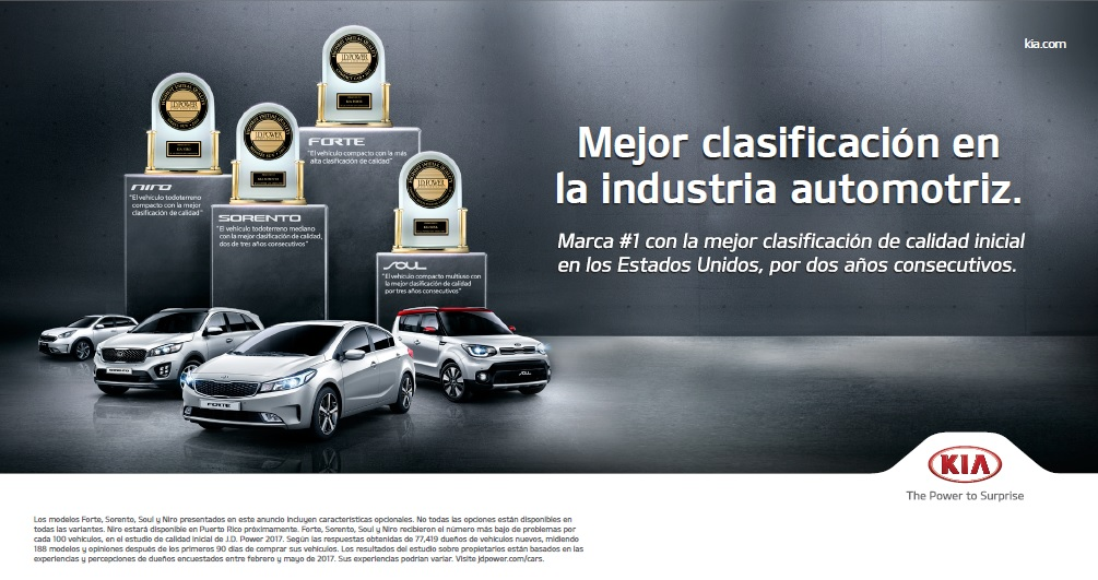 Kia #1 entre todas las marcas de la industria - Article cover image.